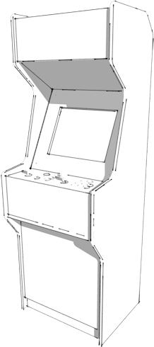 2 Player Upright Machines