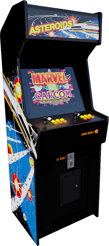Coin-Op Arcade Machines