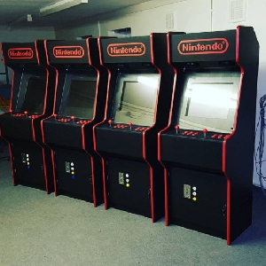 Four Arcade Machines, Done And Ready To Go!
