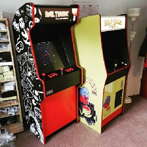The prototype Mark Twelve and the Pac Man machine