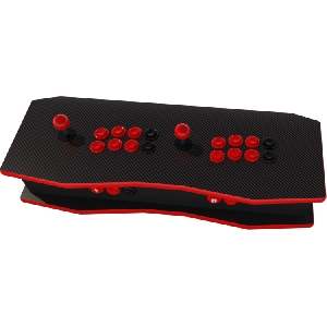 The Retrocade ALPHA Pro Carbon Black/Red