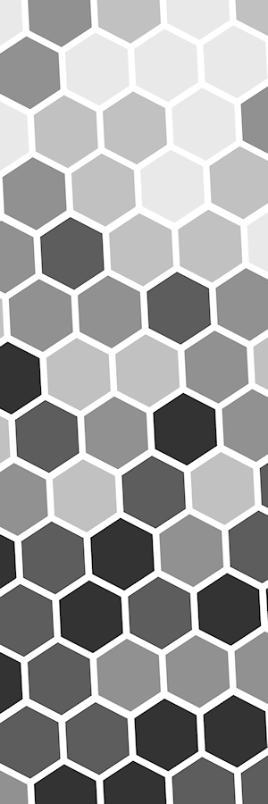Abstract Grey Hex
